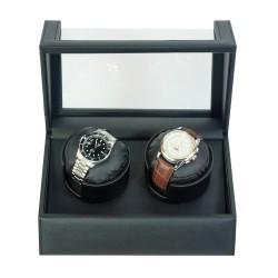 lindenaes-watch-winder-urbevaeger-til-2-ure-sort-cross-grain-laeder