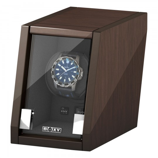 BECO watch winder Castle til 1 ur - valnød træ