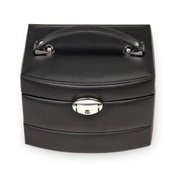 SACHER smykkeskrin Stella smart design i sort læder
