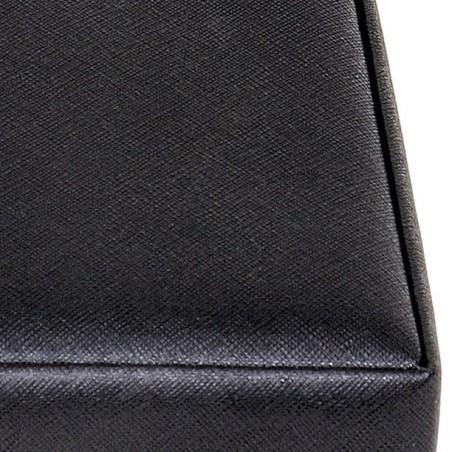 SACHER smykkeskrin Helen i elegant sort læder