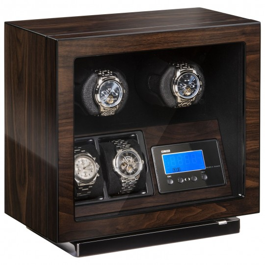 BECO Boxy BLDC watch winder til 2 ure - støjsvag og LED lys