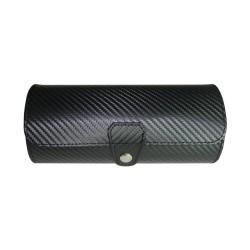 Rejse urboks til 3 ure - i sort carbon fiber look