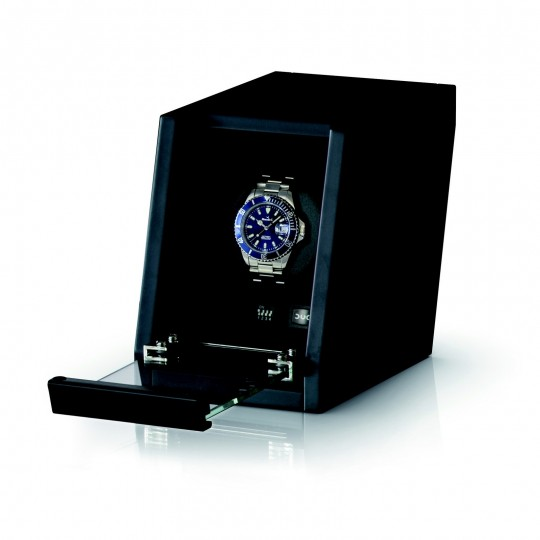 BECO watch winder til 1 ur - mat sort træ