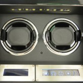 Watch winder / urbevæger 2 ure - LCD display og lydsvag