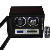 LINDENÆS watch winder / urbevæger 2 ure - LCD display og lydsvag